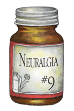 Natural Healing Room - Neuralgia #9 (500 Tablets)