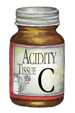 Natural Healing Room - Acidity - Tissue C