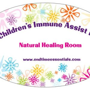 Natural Healing Room - Children's Immune Boost Kit