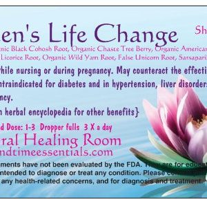 Natural Healing Room - Women's Life Change Tincture