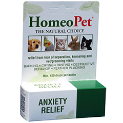 Natural Healing Room - HomeoPet Anxiety Relief  15ml