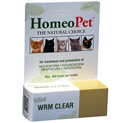 Natural Healing Room - HomeoPet Worm Clear 15ml