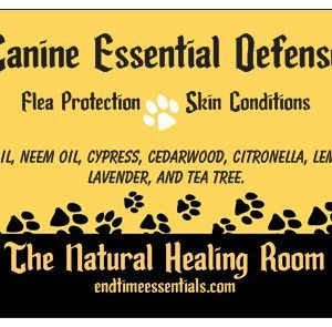 Natural Healing Room - Canine Essential Defense 8oz Spray