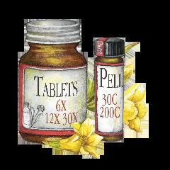 Natural Healing Room - Chamomilla-30x 500 Tablets (COPY)