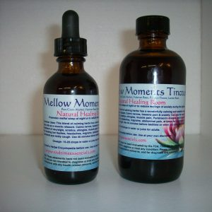 Natural Healing Room - Mellow Moments Tincture (Alcohol Base)