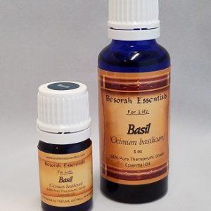 Natural Healing Room - Basil Essential Oil