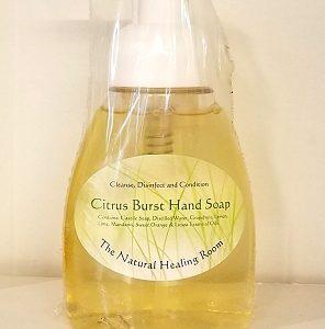 Natural Healing Room - Citrus Burst Hand Soap 8 oz