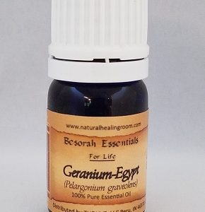 Natural Healing Room - Geranium Egyptian Essential Oil - 5 ml