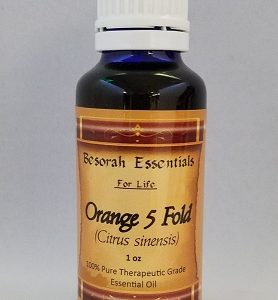 Natural Healing Room - Orange (5 Fold) Essential Oil - 30 ml