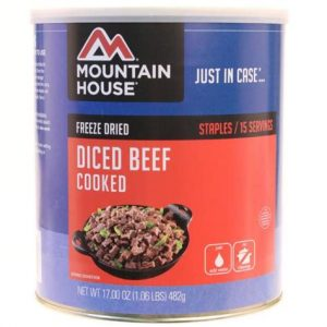 Natural Healing Room - Beef - Diced - Cooked - Freeze Dried
