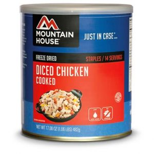 Natural Healing Room - Chicken - Diced - Freeze Dried