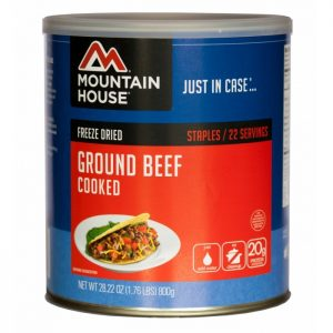 Natural Healing Room - Ground Beef - Cooked - Freeze Dried