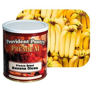 Natural Healing Room - Banana Dices - Freeze Dried
