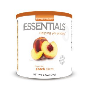 Natural Healing Room - Peaches - Freeze Dried