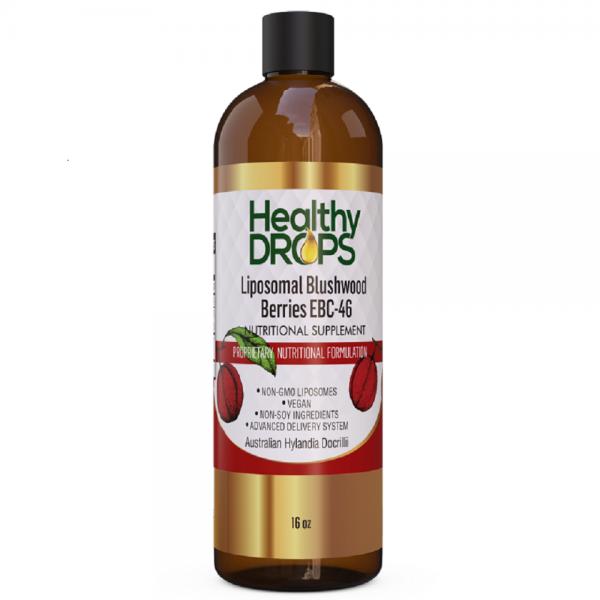 Natural Healing Room - Liposomal Blushwood Berry Extract - EBC-46 Non-GMO Certified