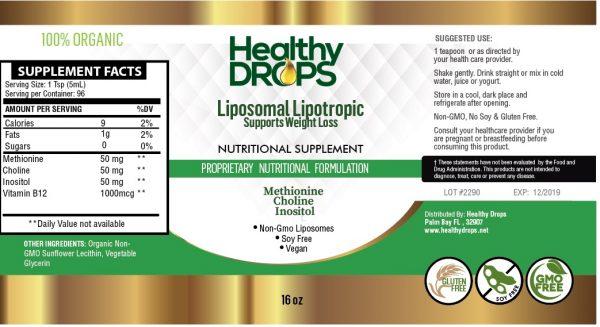 Natural Healing Room - Liposomal Lipotropic Amino Acids