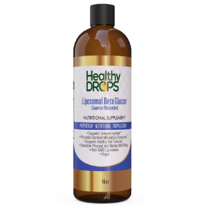 Natural Healing Room - Liposomal Beta Glucan  Beta 1-3D and Beta 1-6D 85 Percent