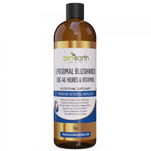 Natural Healing Room - Liposomal Anti-Kancer Blushwood Berry Herbs and Vitamins Certified