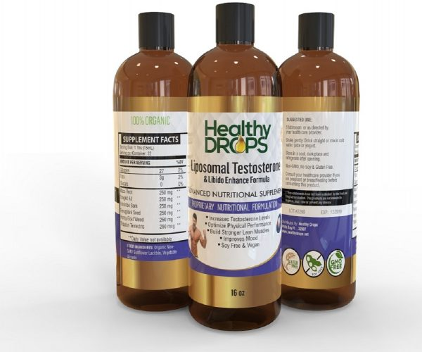 Natural Healing Room - Liposomal Testosterone Libido Booster