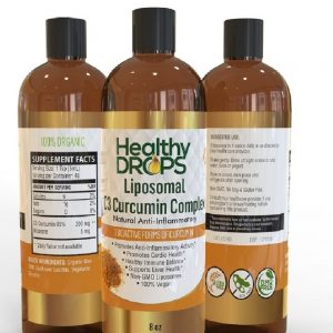 Natural Healing Room - Liposomal C3 Curcumin Complex and Vitamin D3