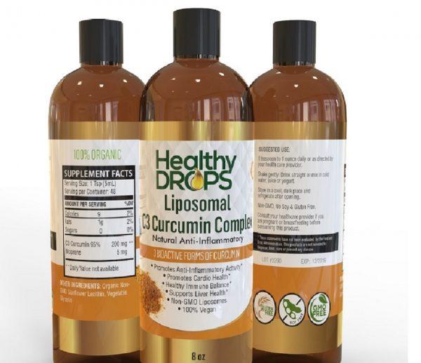 Natural Healing Room - Liposomal C3 Curcumin Complex and Vitamin D3