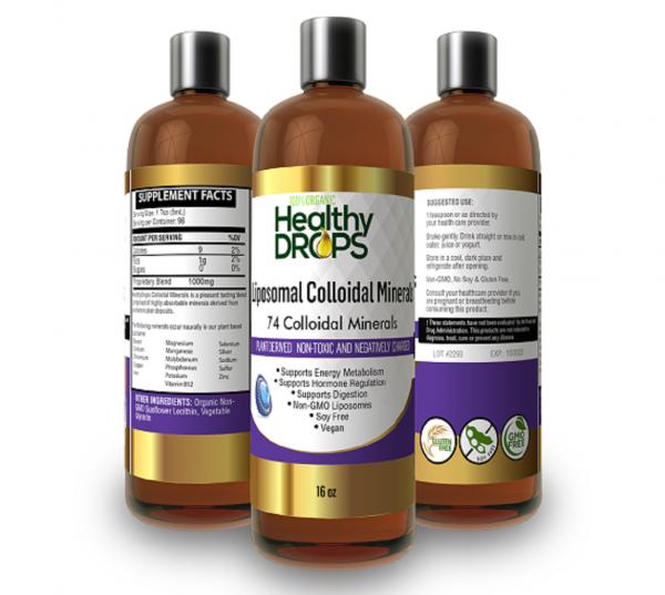 Natural Healing Room - Liposomal Colloidal Minerals