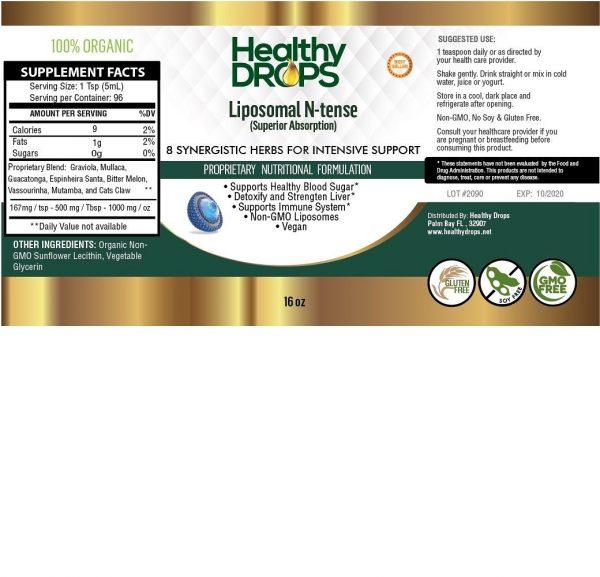 Natural Healing Room - Liposomal N-Tense