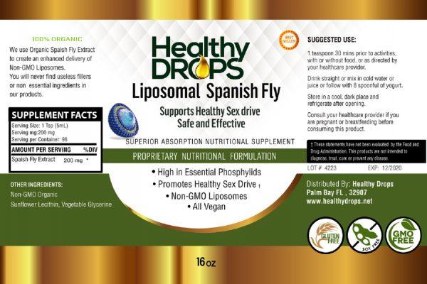Natural Healing Room - Liposomal Spanish Fly