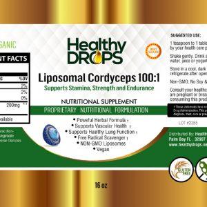 Natural Healing Room - Liposomal Cordyceps 100:1