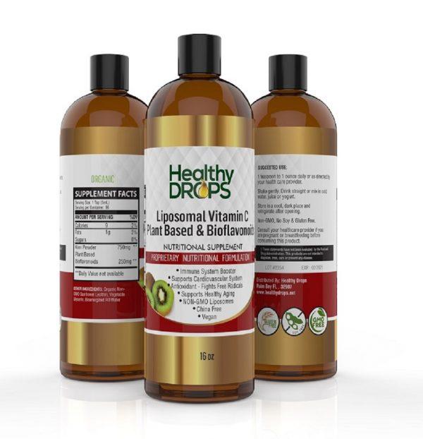Natural Healing Room - Liposomal Vitamin C With Bioflavonoids Plant Based
