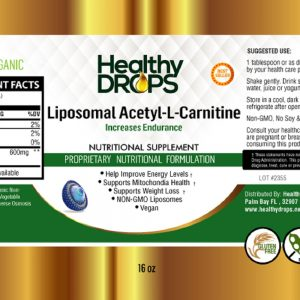 Natural Healing Room - Liposomal Acetyl-L-Carnitine