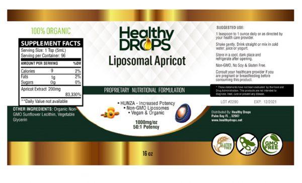 Natural Healing Room - Liposomal Apricot