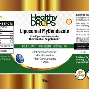 Natural Healing Room - Liposomal MyBendazole 16 ounces