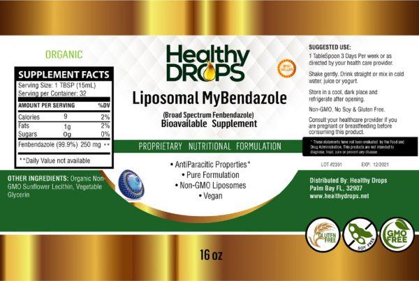 Natural Healing Room - Liposomal MyBendazole 16 ounces