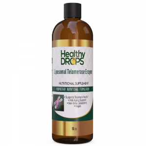 Natural Healing Room - Liposomal Telomerase Enzyme Anti Aging Formula