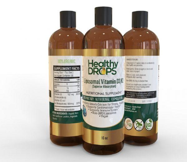 Natural Healing Room - Liposomal Vitamin D3 K2 mk7