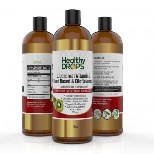 Natural Healing Room - Liposomal Vitamin C With Bioflavonoids Plant Based